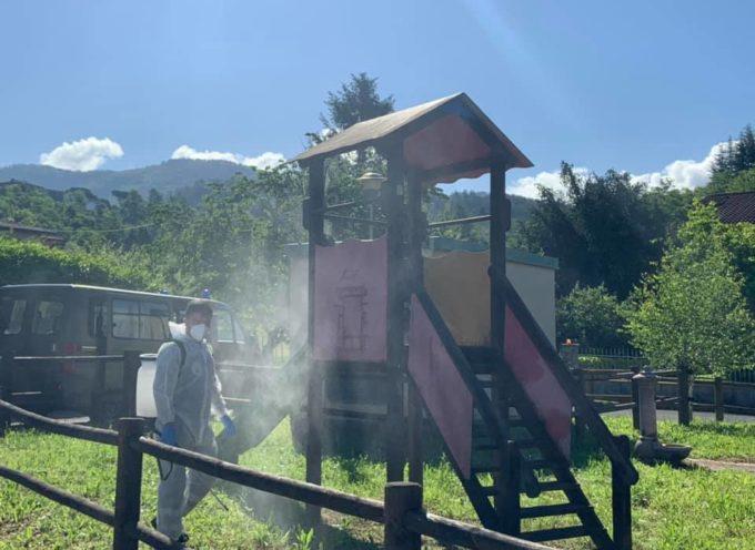Da oggi riaprono tutti i parchi giochi del Comune di Castiglione di Garfagnana.