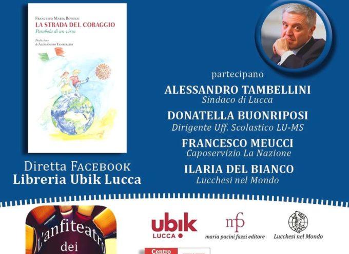 ALESSANDRO TAMBELLINI – OGGI PRENTA IL LIBRO  DI FRANCESCO BOVENZI