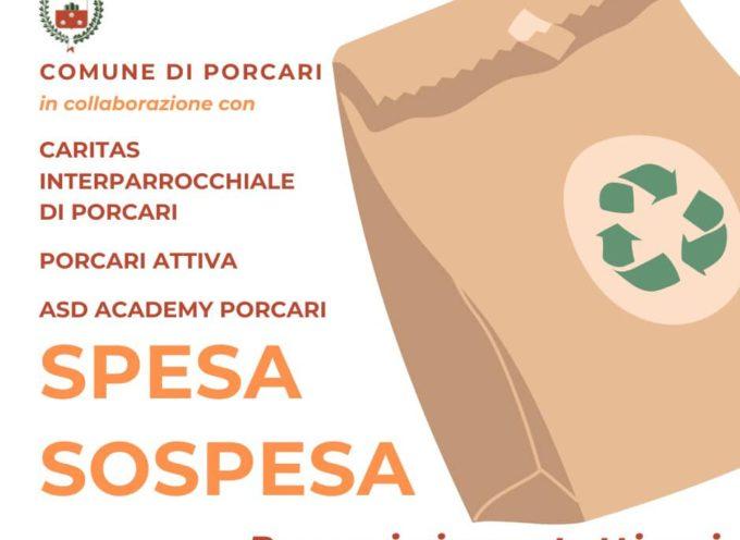 Porcari – Sotto la Torretta va avanti il progetto 'Spesa sospesa'.