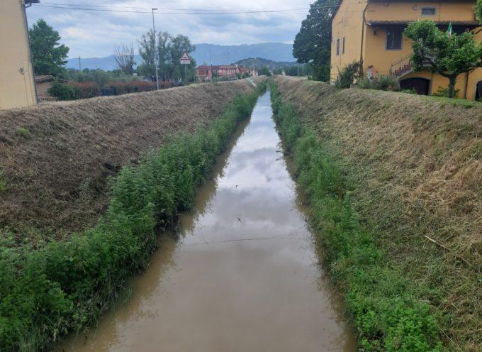 Prosegue l'impegno del Consorzio di Bonifica 1 Toscana Nord per la sicurezza idraulica della zona di Porcari: