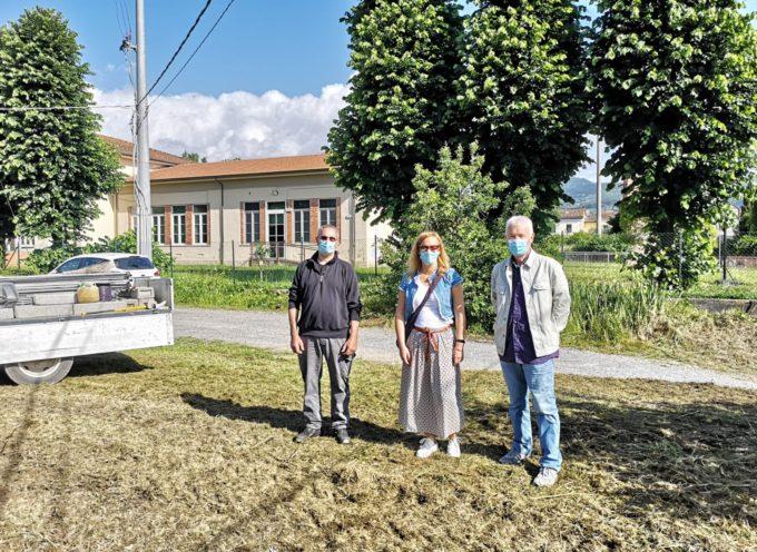 La scuola elementare di Vallebuia avrà il suo parcheggio per l'inizio del nuovo anno scolastico.