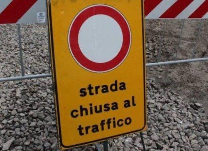 CHIUSO IL CAVALCAVIA SUL LECCIO