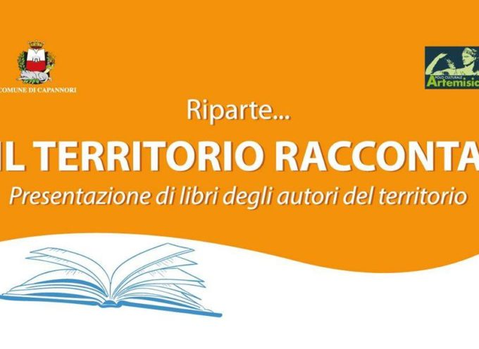 """Prosegue la rassegna """"Il territorio racconta"""" promossa dal Comune di Capannori per valorizzare gli autori locali."""