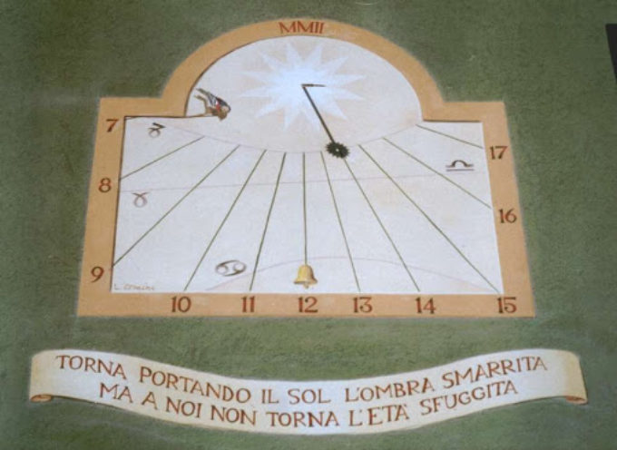 Gli orologi solari.