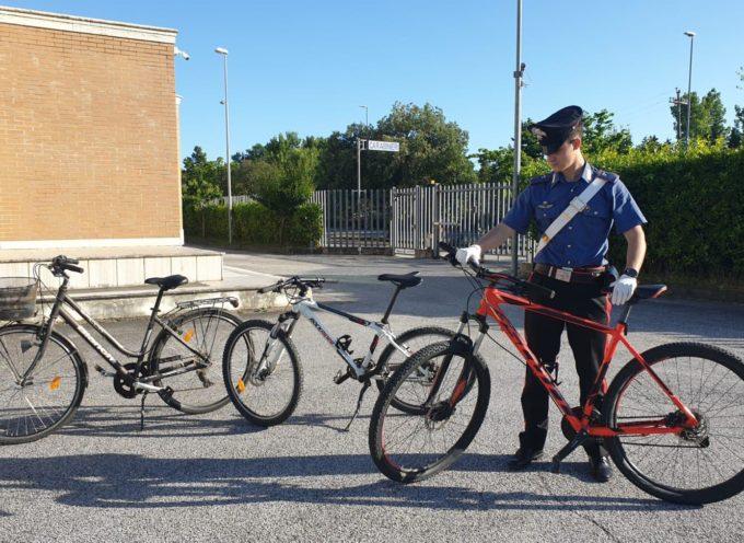 Torre del Lago:  trovati dai Carabinieri con bici rubate, denunciati tre soggetti per furto e ricettazione.