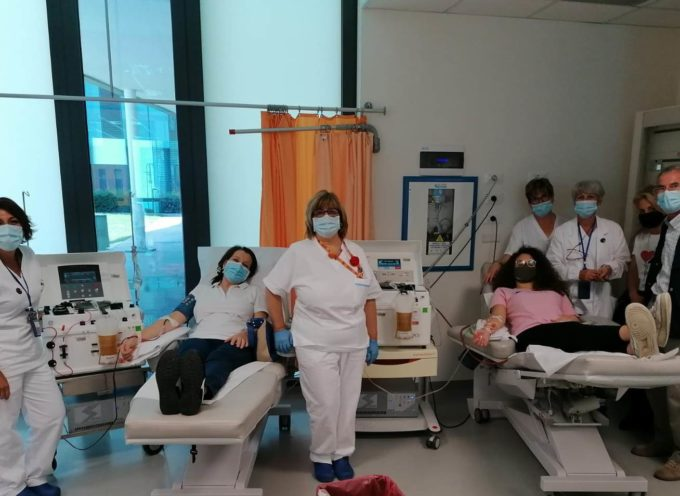 Tanti donatori di sangue al Centro Trasfusionale di Lucca per la ricorrenza del 14 giugno