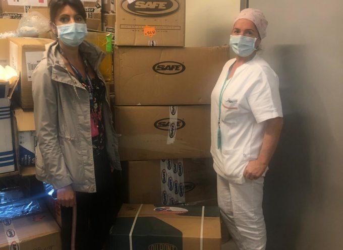 Diecimila mascherine FFP2 donate all'ospedale San Luca dal gruppo Industrie cartarie Tronchetti di Lucca