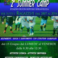 Seravezza-Pozzi Calcio – Successo dei Summer Camp al Buon Riposo