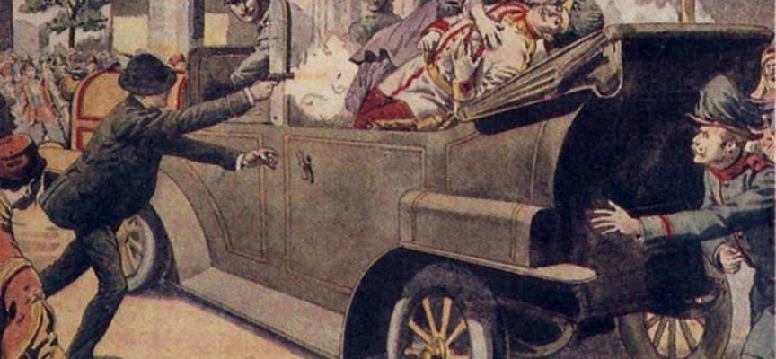 ACCADDE OGGI – Il 28 giugno 1914, a Sarajevo (Bosnia) l'arciduca Francesco Ferdinando,  e la moglie Sofia vengono colpiti a morte