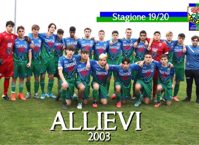 Seravezza – Vittoria del campionato degli allievi 2003