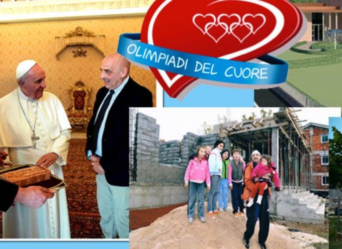 Olimpiadi del Cuore – L'invito di Paolo Brosio per la donazione gratuita tramite denuncia dei redditi
