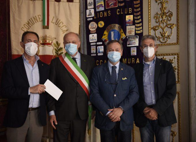 5'000 euro dal Lions Club Lucca le Mura per il Fondo di Mutuo Soccorso: