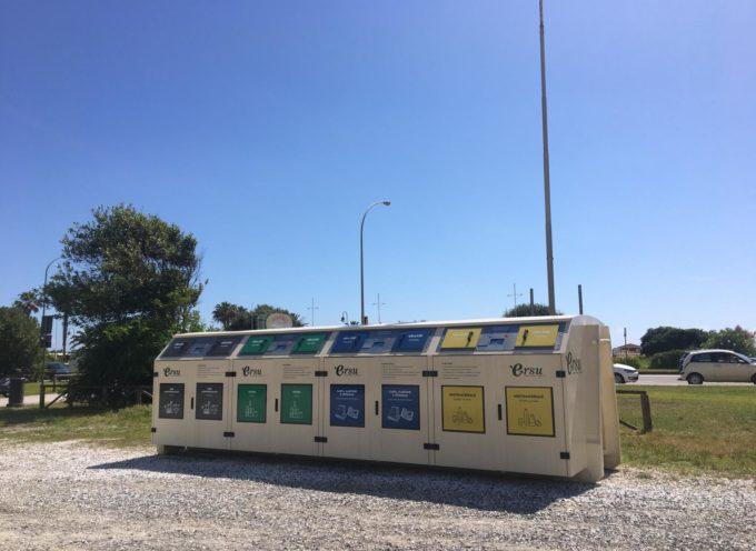 Rifiuti: già attiva l'isola ecologica a Motrone