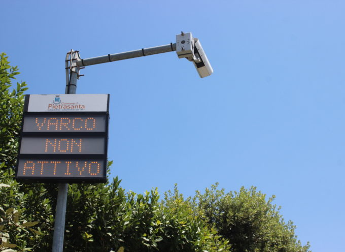 Focette: a luglio torna la Zona Traffico Limitato, modalità semplificata per il rilancio del pass