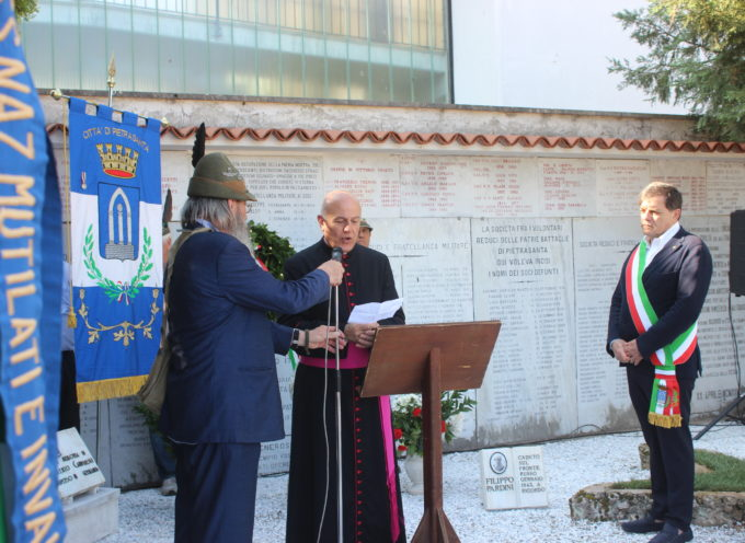 Pietrasanta commemora i caduti di San Martinoe Solferino,