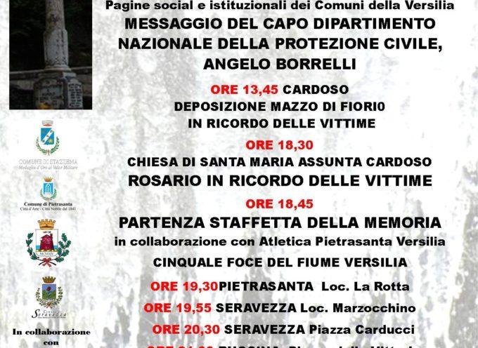 Alluvione Versilia: 24esimo anniversario nel ricordo del piccolo Alessio Ricci