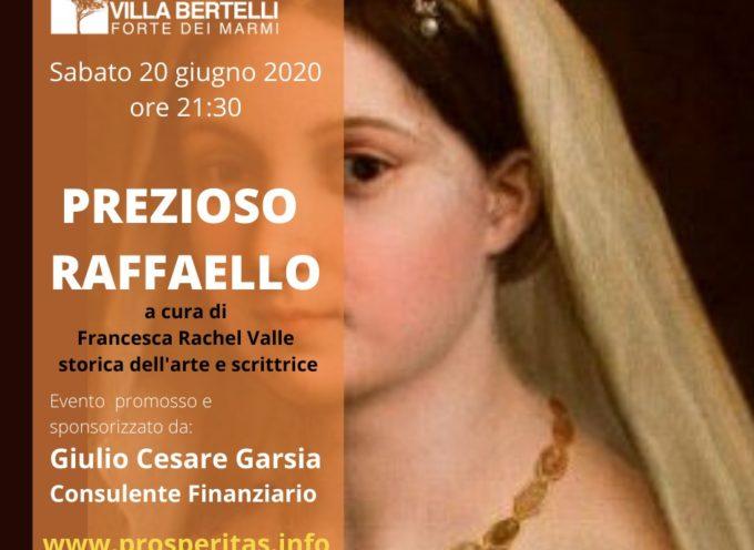 Villa Bertelli rende omaggio a Raffaello Sanzio  nel 500esimo anniversario della morte