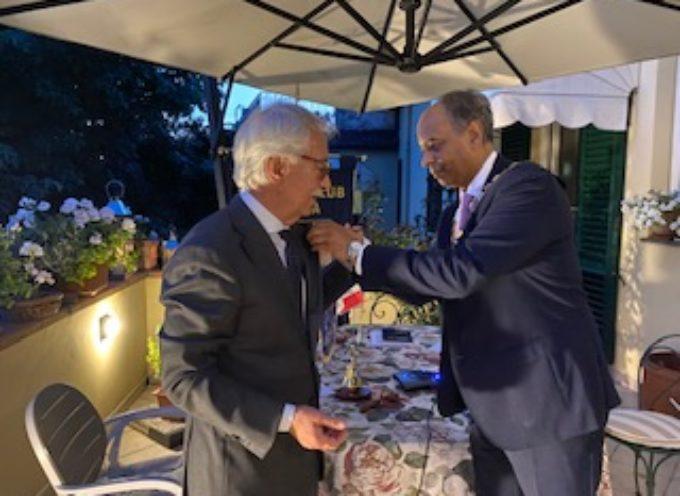 al Rotary Club Lucca. Liban Varetti nuovo presidente