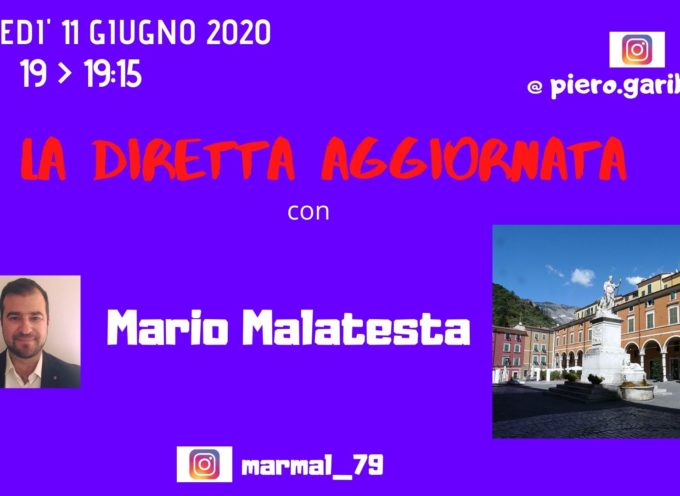 """OSPITE DE """"LA DIRETTA AGGIORNATA"""" L'AVVOCATO MARIO MALATESTA"""