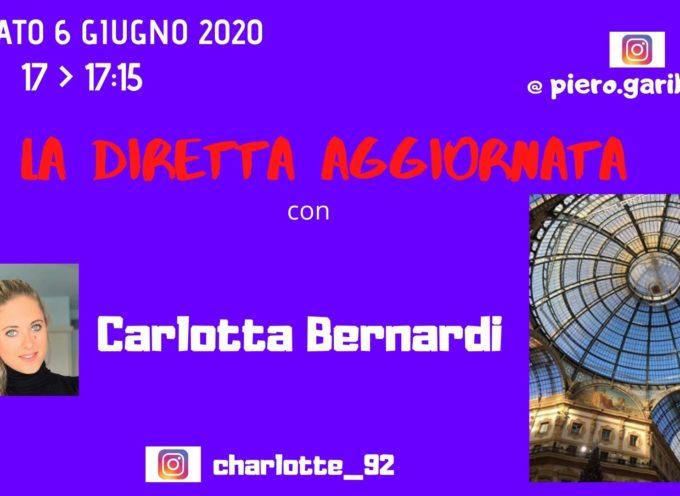 """CARLOTTA BERNARDI, CORPORATE COMMUNICATION CONSULTANT, OSPITE A """"LA DIRETTA AGGIORNATA"""""""