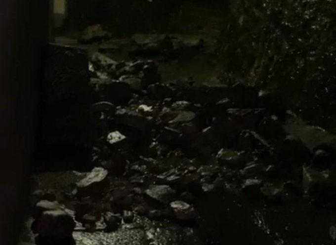 Garfagnana, pioggia e danni