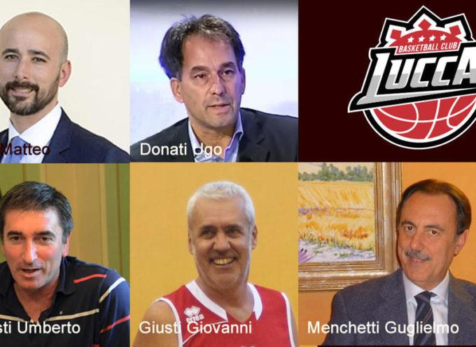 Nuovo Consiglio di Amministrazione. Basketball Club Lucca
