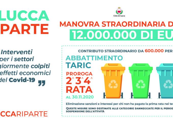 Lucca Riparte: online il modulo per richiedere il rimborso della parte variabile della Taric