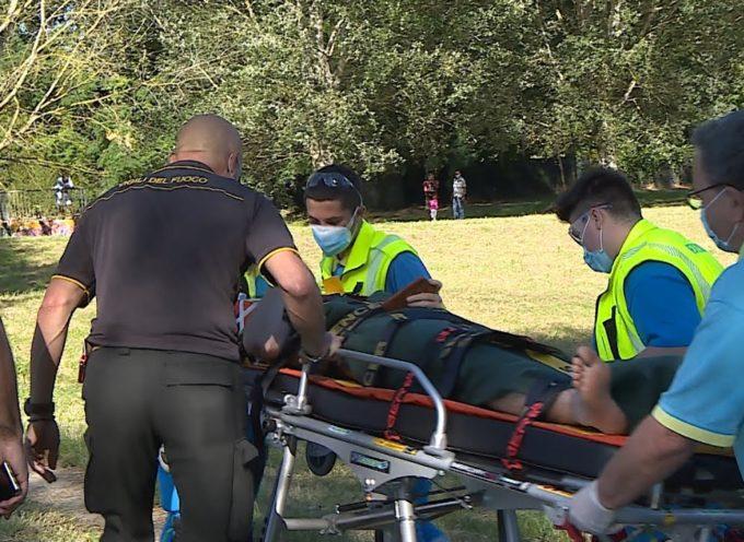 Ragazzo bloccato su un isolotto in mezzo al fiume: salvato dai Vigili del Fuoco