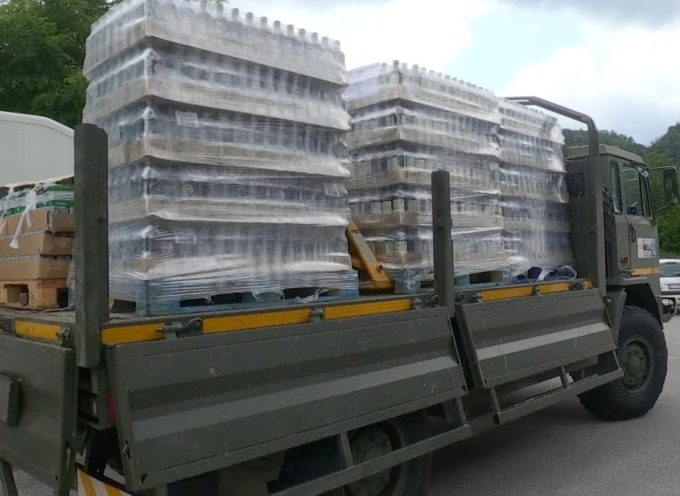 Aiuti alimentari per 400 famiglie