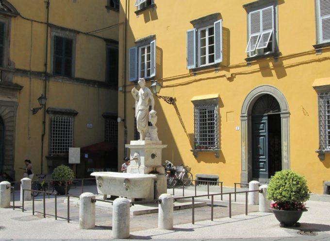 Al via i lavori di restauro per la fontana del Nottolini