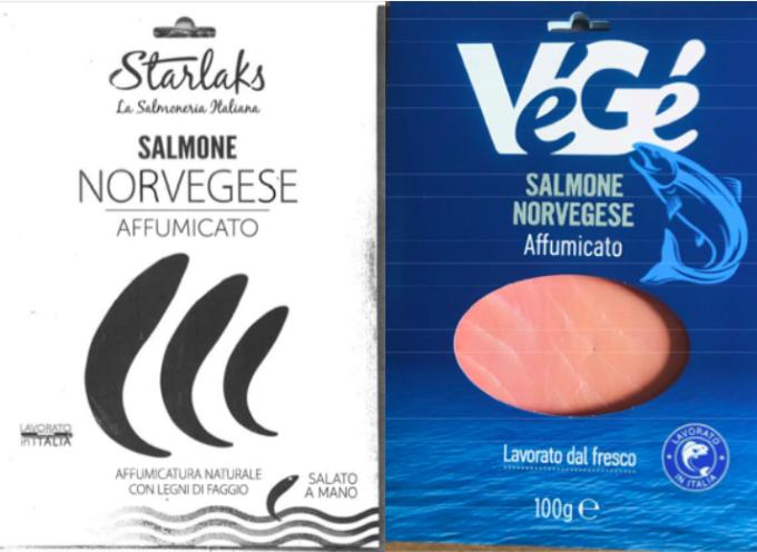 Presenza di Listeria monocytogene: richiamato Salmone norvegese affumicato Starlaks e Végé