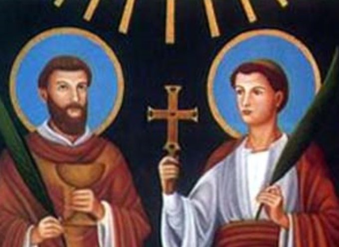 Il Santo del giorno, 2 Giugno: S. Marcellino e Pietro