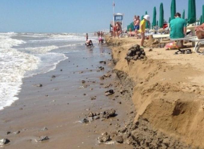 Erosione, finanziati tutti gli interventi sulla costa