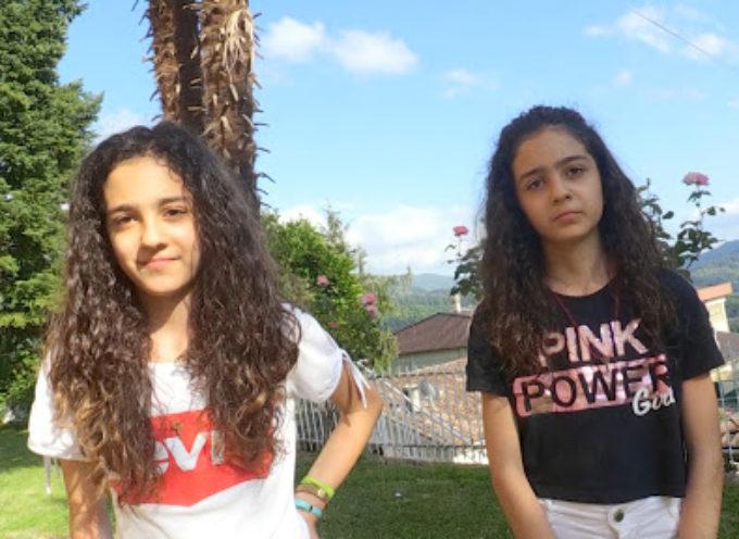 Anna e Sofia, le due gemelline garfagnine da…dieci e lode