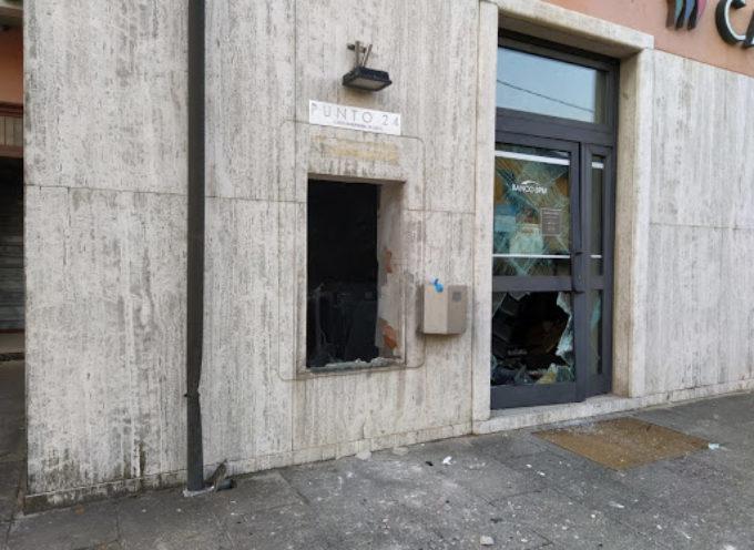 Assalto al bancomat, esplosione alla filiale Crl di Lappato