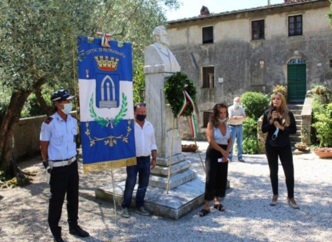 buon compleanno Carducci, cerimonia alla sua casa museo a Valdicastello
