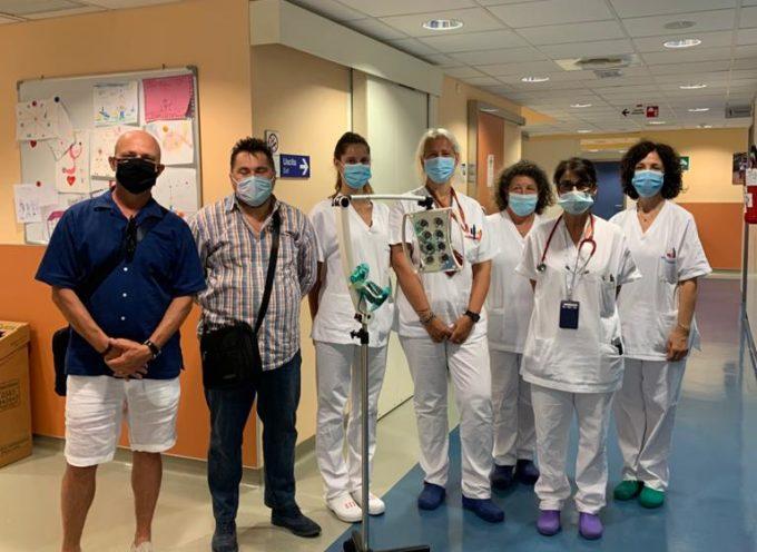Donazione del CRAL di CLAP alla Pediatria di Lucca