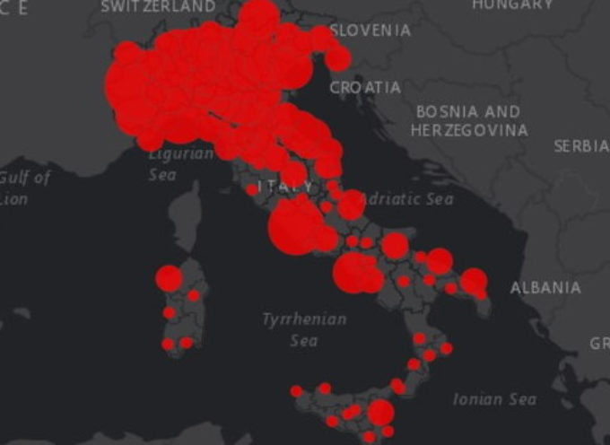 Dal Veneto alla Campania: l'elenco dei focolai di Covid-19 presenti in Italia