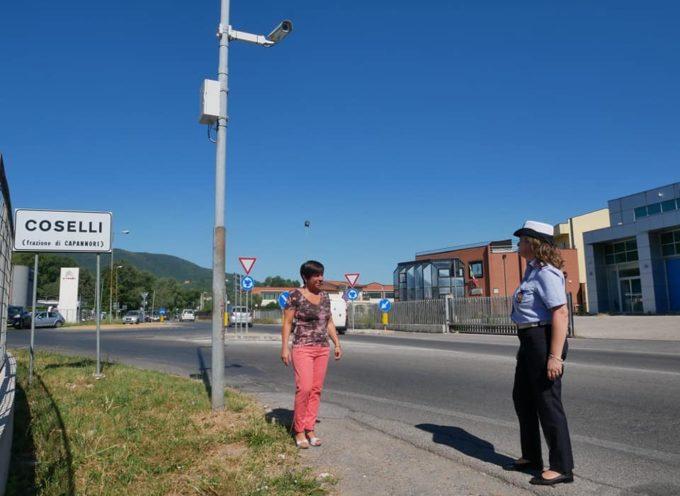 Posizionata una telecamera tra Guamo e Coselli, in via di Sottomonte