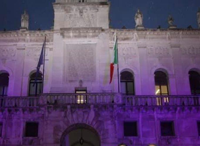 La casa dei cittadini si colora di viola Un compleanno importante per l'UICI: