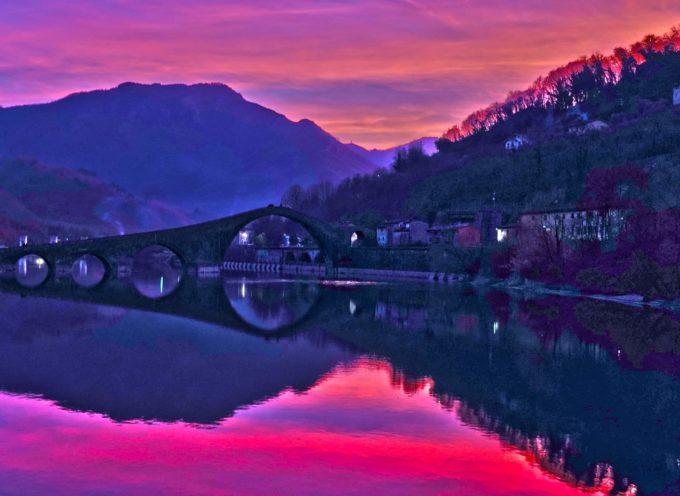 Aspetti del Ponte del Diavolo.. Borgo a Mozzano