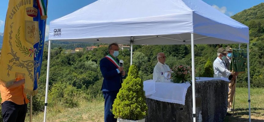 alla Croce di Stazzana l'annuale Cerimonia di commemorazione dei caduti della Garfagnana di tutte le guerre.