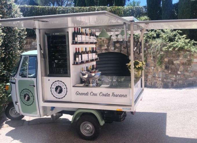 alla Fortezza di Mont'alfonso a Castelnuovo G. i grandi vini toscani incontrano i grandi prodotti garfagnini.