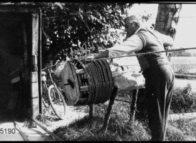 gli antichi mestieri: il cordaio.