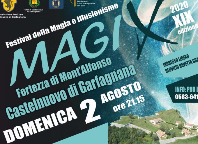 ALLA FORTEZZA DI MONTALFONSO – MagiX 2020 – 19° Festival di Magia e Illusionismo
