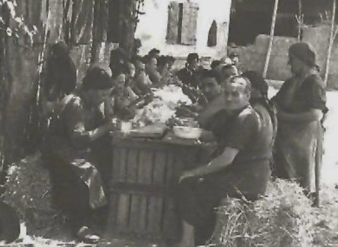 Il pranzo sull'aia…