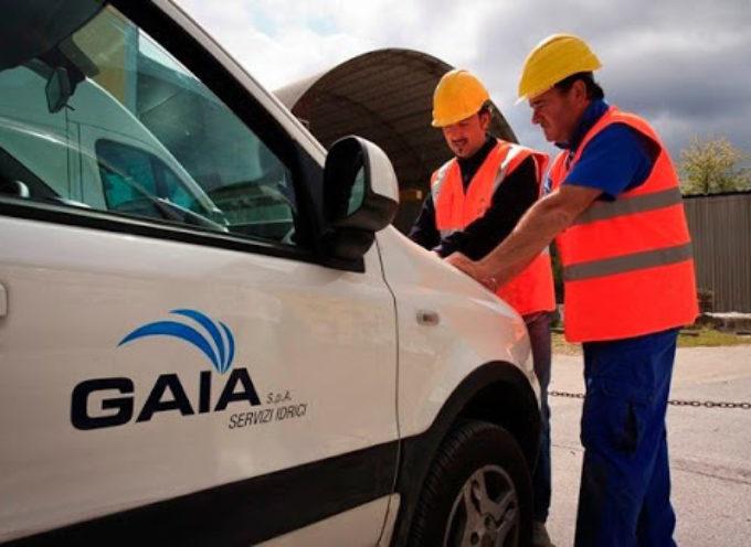 Gaia: manutenzione della rete idrica, erogazione sospesa dalle 9 alle 12.30