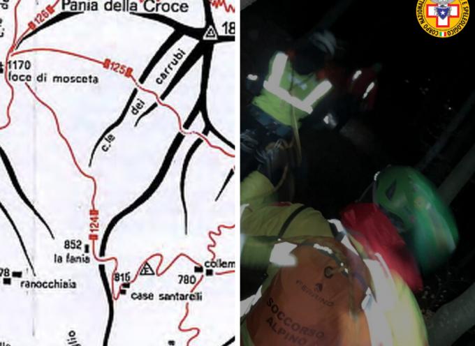 La stazione di Querceta ha da poco rintracciato un escursionista disperso nella zona di Pruno