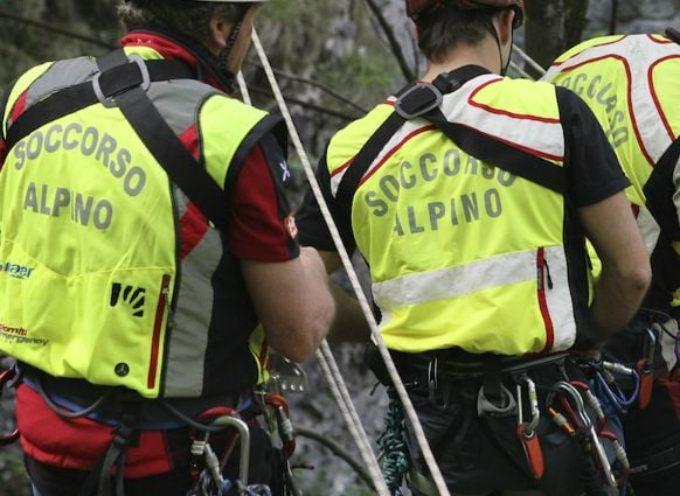 Giornata intensa per i tecnici del Soccorso Alpino Toscano.