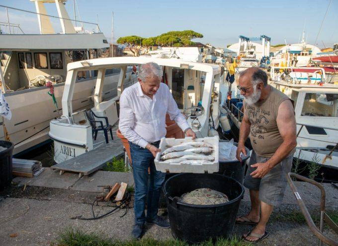 """""""Un mare di pesci per ogni stagione"""": questo il titolo della campagna che ho presentato proprio ieri per valorizzare la qualità e la stagionalità del pescato toscano."""